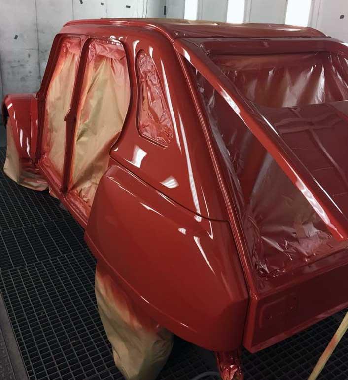 Carrozzeria restauro auto Merate