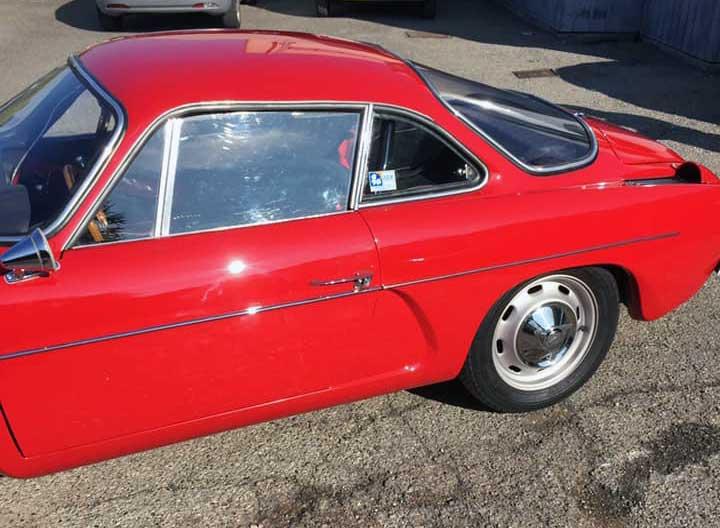 Restauro auto d'epoca Lecco