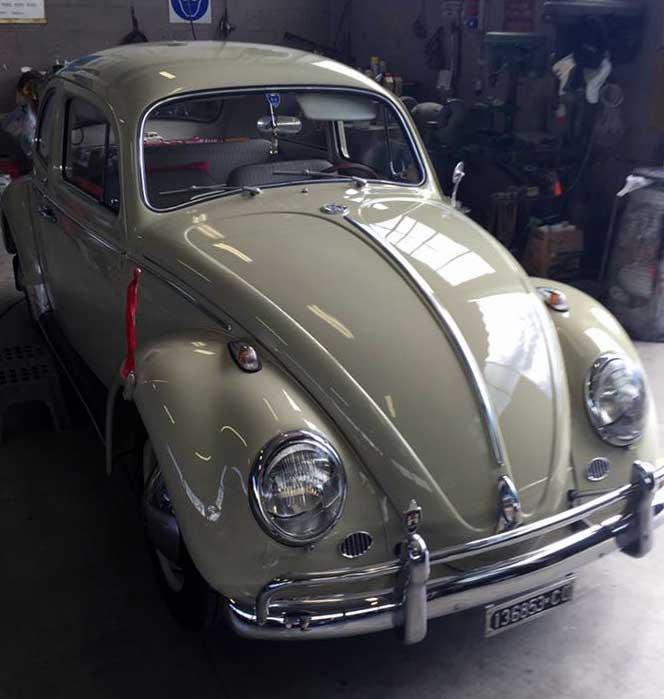 Restauro auto d'epoca Merate